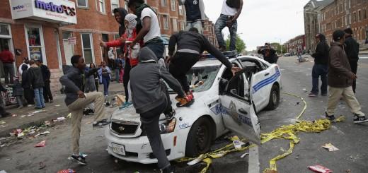 Baltimore Riot 2015 - YouTube Screenshot