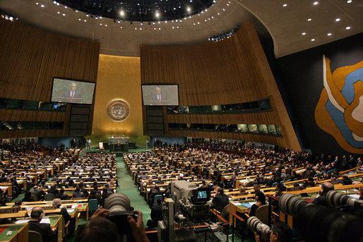 UN General Assembly - Public Domain
