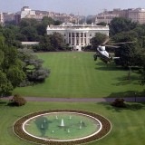 White House South Lawn - Public Domain