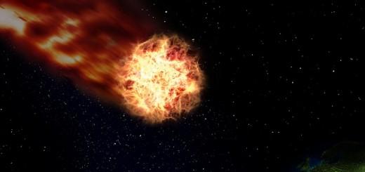 Asteroid Meteor - Public Domain