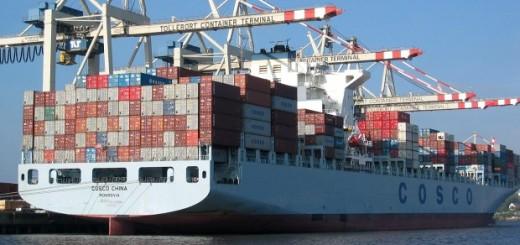 Chinese Merchant Ship