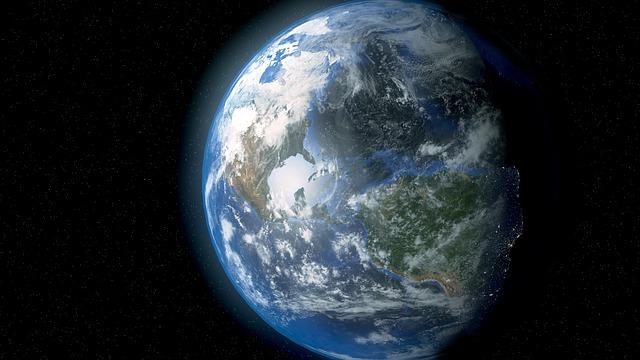 Earth Space Planet Globe - Public Domain