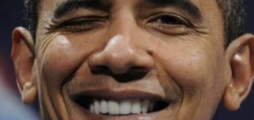 Obama Smirking