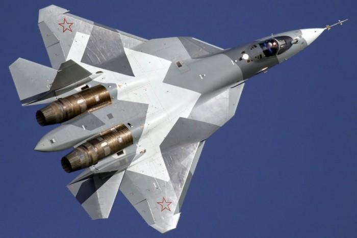 Russian PAK-FA Stealth Fighter