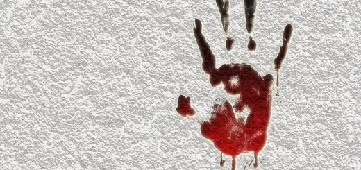 crime criminal murder reprint blood effect finger - Public Domain