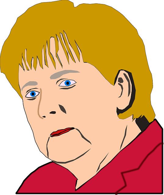 Angela Merkel - Public Domain