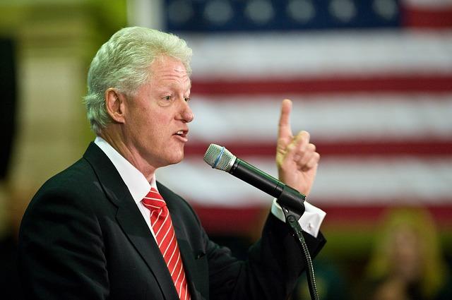 Bill Clinton - Public Domain
