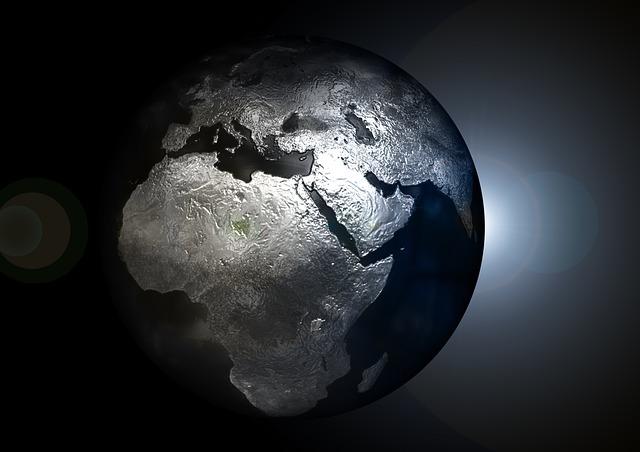 Earth In Peril - Public Domain