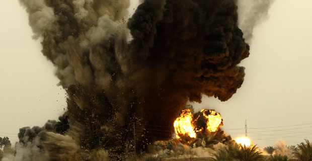 Explosion - Photo by U.S. Army