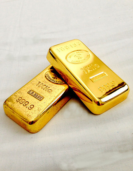Gold Bullion - Photo by Slav4 - Ariel Palmon