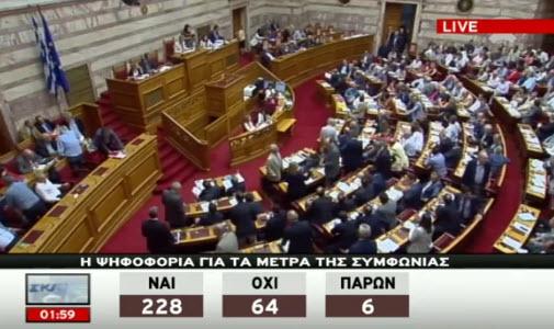 Greek Vote