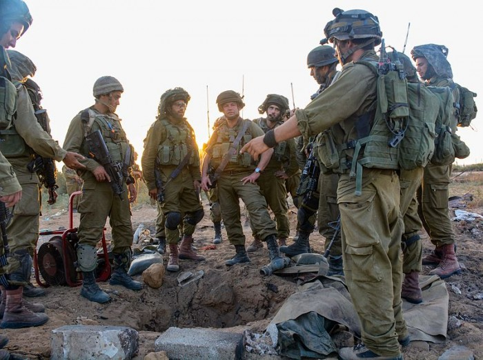 IDF_Paratroopers_Operate_Within_Gaza - Photo by IDF