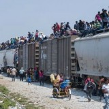 Illegal Immigration - Crossing The Rio Grande