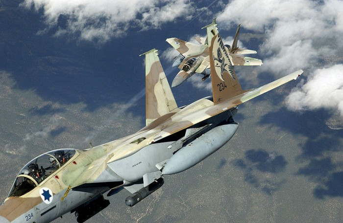 Israeli Fighter Jets - Public Domain