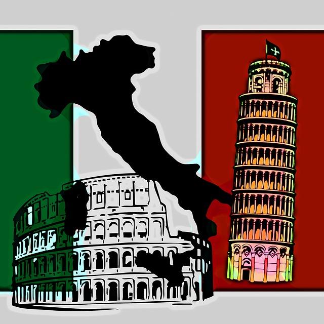 Italy - Public Domain