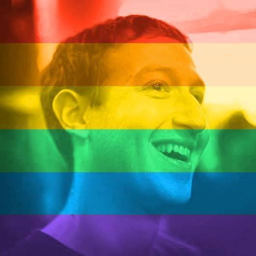 Rainbow Flag - Facebook