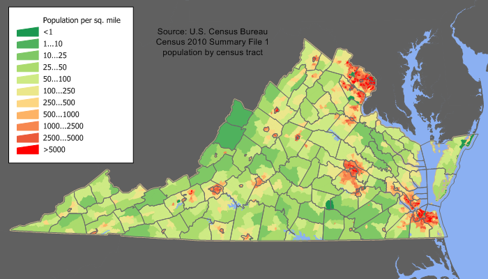 Virginia_population_map - Jim Irwin