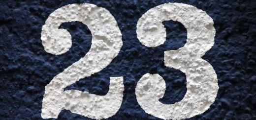 23 Twenty Three - Public Domain