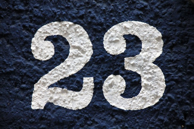 23 Twenty Three - Public Domain