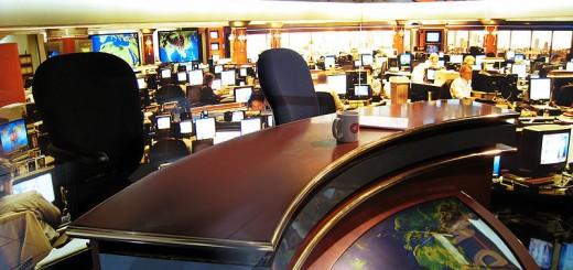 CNN Newsroom - Photo by Doug Waldron