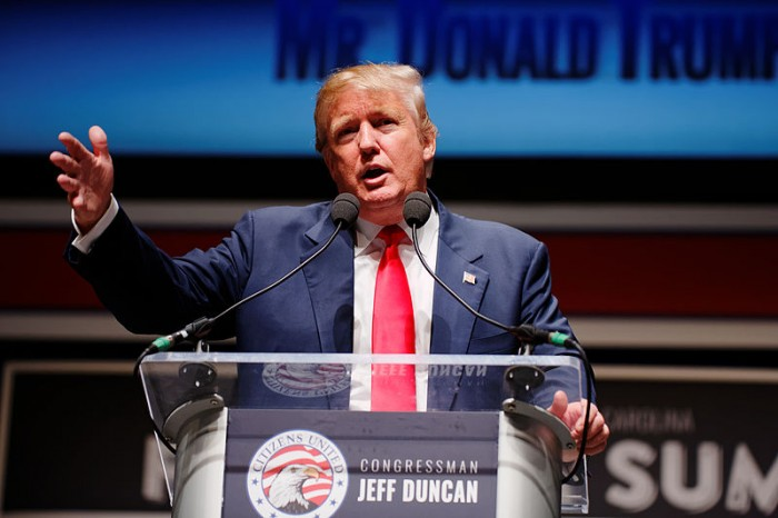 Donald Trump - Photo by Michael Vaidon