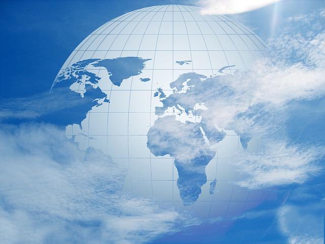 Earth Globe Planet Sky World - Public Domain