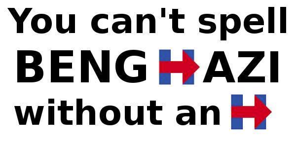 Hillary Logo Benghazi