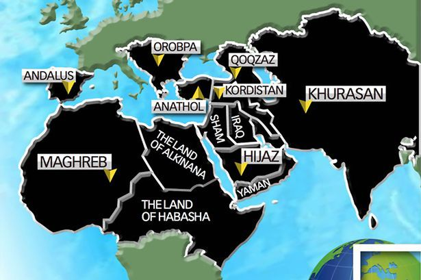 ISIS World Map