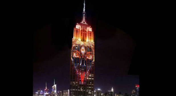 Kali On The Empire State Building - Creative Commons