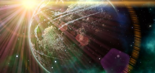 Lens Flare Earth - Public Domain