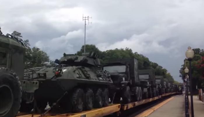 Military Convoy - YouTube Frank Ezell