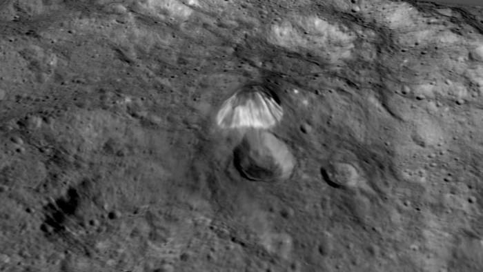 Pyramid On Ceres - NASA