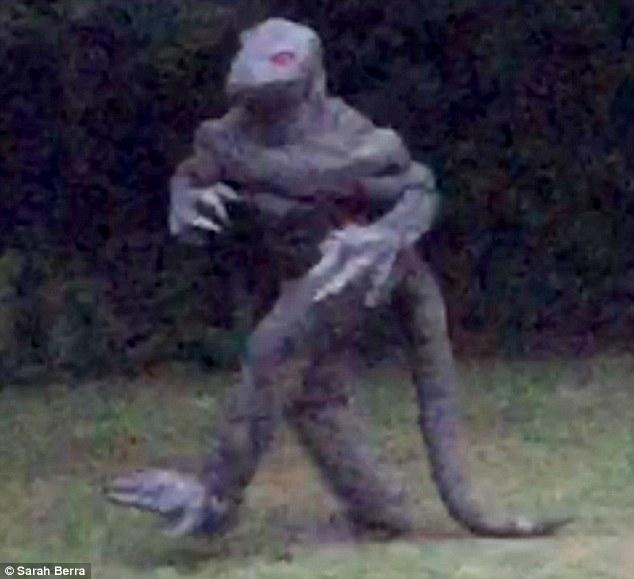 South Carolina Lizard Man