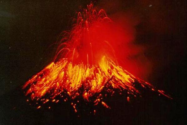 Volcano Erupting - Public Domain