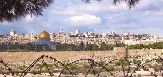 Jerusalem Wire Fence - Public Domain