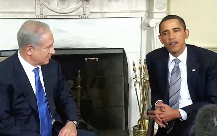 Barack Obama and Israeli Prime Minister Benjamin Netanyahu - Public Domain