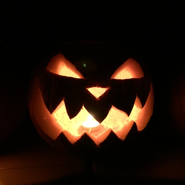 Halloween Pumpkin - Public Domain