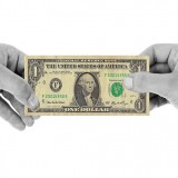 Dollar Hands - Public Domain