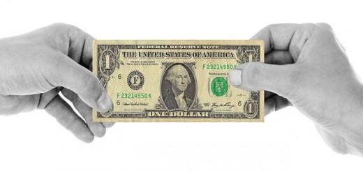 Dollar Hands - Public Domain