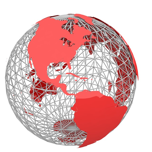 Globe Interconnected - Public Domain