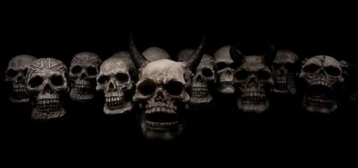 Horror Skulls - Public Domain