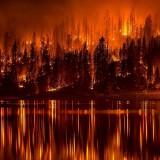 Wildfire Lake - Public Domain