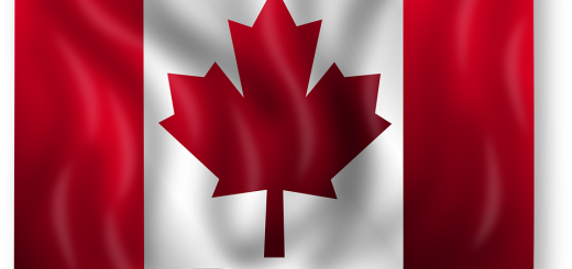 Canadian Flag - Public Domain