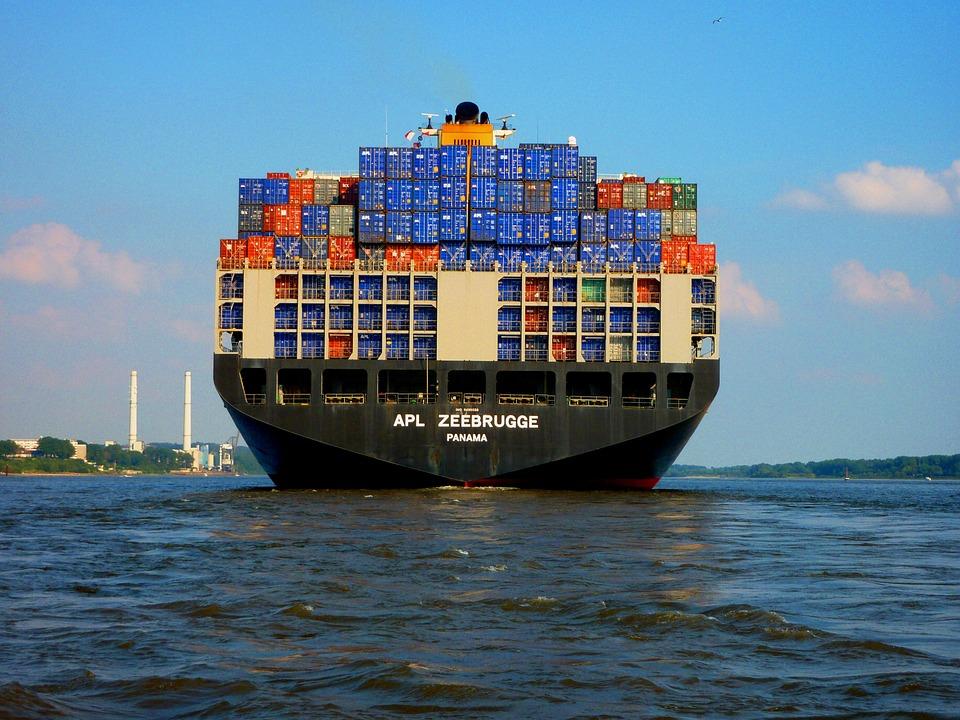 Container Ship - Public Domain