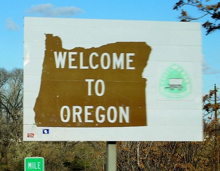 Oregon - Public Domain