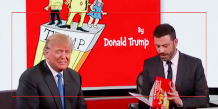 What A Laugh Donald Trump On Jimmy Kimmel Childrens Story