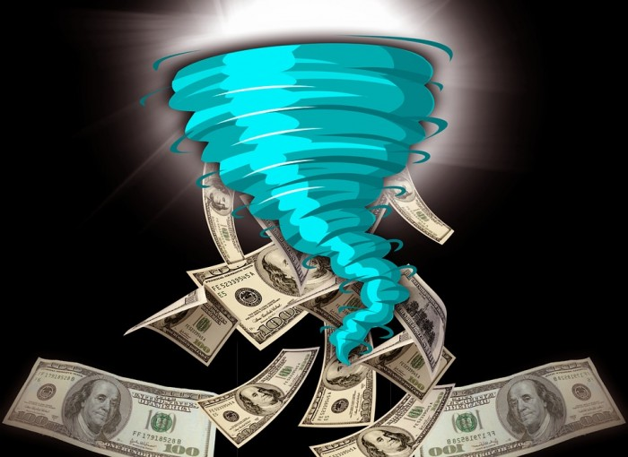 Money Tornado - Public Domain