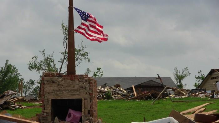 Tornado Destruction - Public Domain