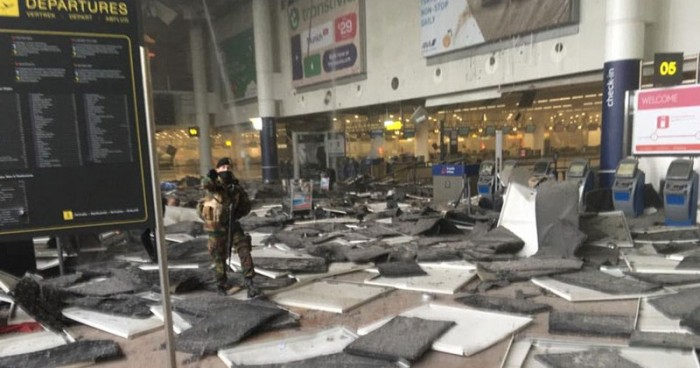 Brussels Airport - video capture