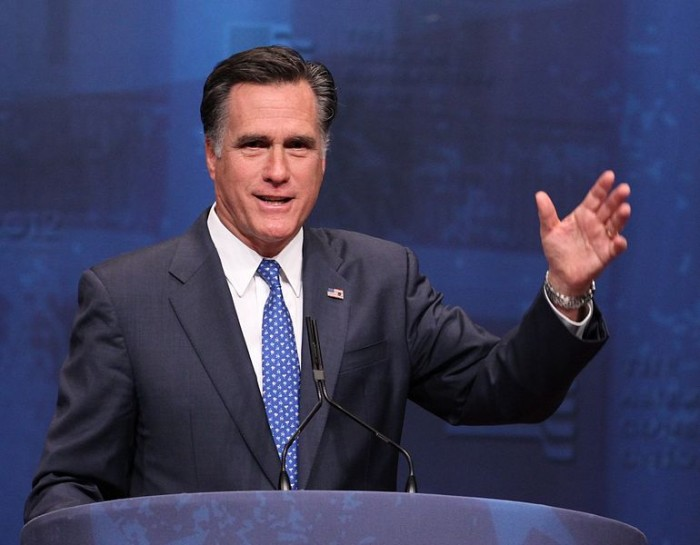 Mitt Romney - Photo by Mark Taylor